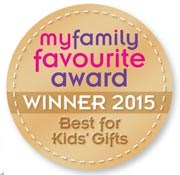 'My Family Favourite' award winner 2015 Best for Kids Gifts