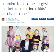 Loubilou to become largest marketplace for indie kids goods on planet