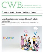 Loubilou champions unique children's labels worldwide