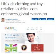 UK Kids clothing and toy retailer Loubilou.com embraces global expansion