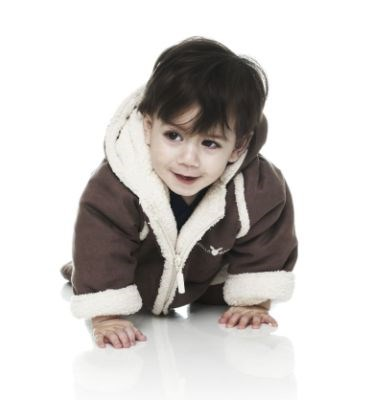 Wallaboo Baby Overall/Winter Suit - Chocolate (0-6 mths)