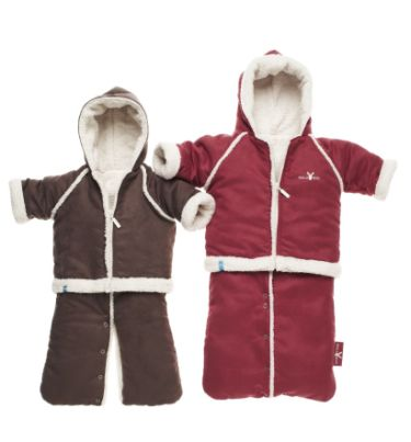 wallaboo baby overall winter suit chocolate 0 6 loubilou. Black Bedroom Furniture Sets. Home Design Ideas