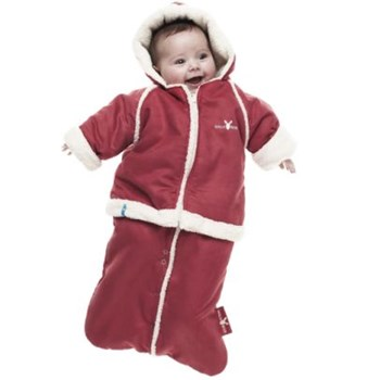 Wallaboo Baby Overall/Winter Suit - Red (6-12 mths)