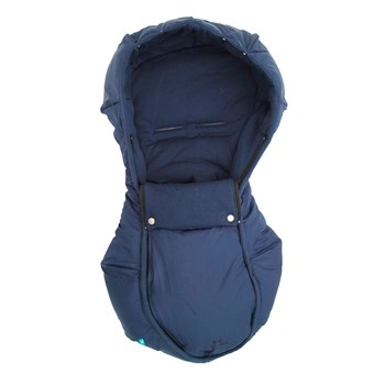 Wallaboo Newborn Arctic Footmuff (Blue)