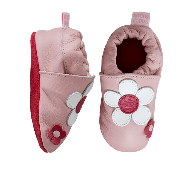 Hippychick Shoo Shoos - Pink/White Daisy