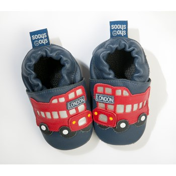 Hippychick Shoo Shoos - London Bus