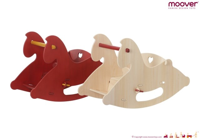 Moover Rocking Horse - Red