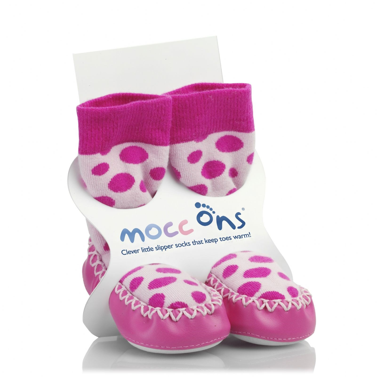 Mocc Ons - Pink Spots