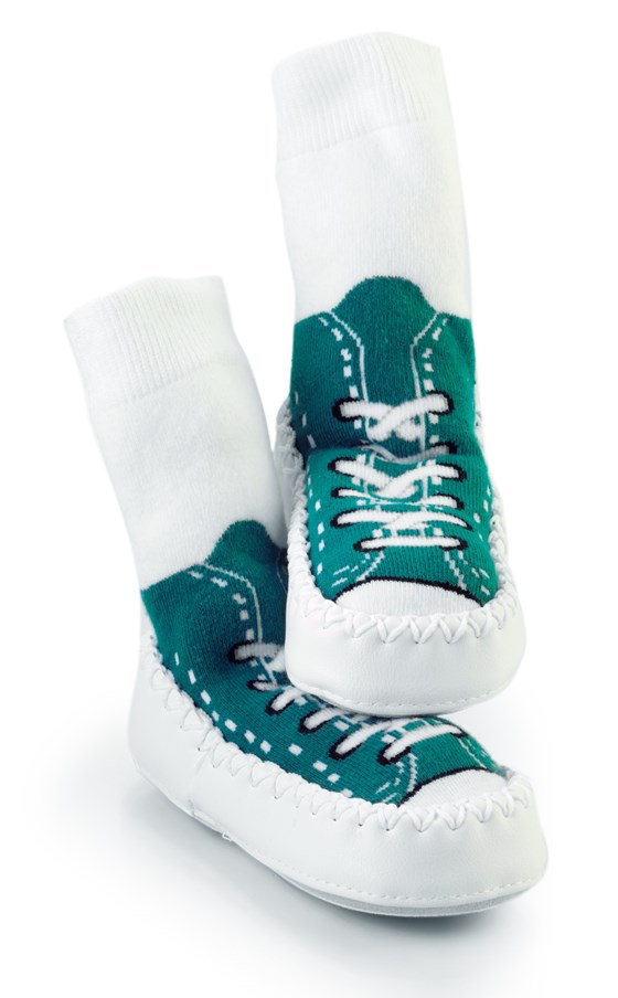 Mocc Ons Sneaker - Turquoise