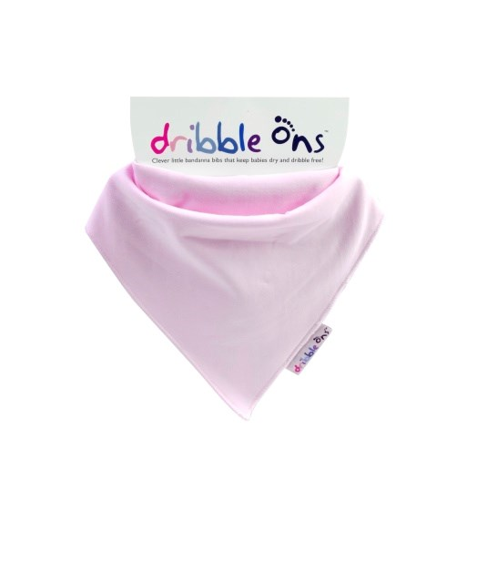 Dribble Ons - Baby Pink