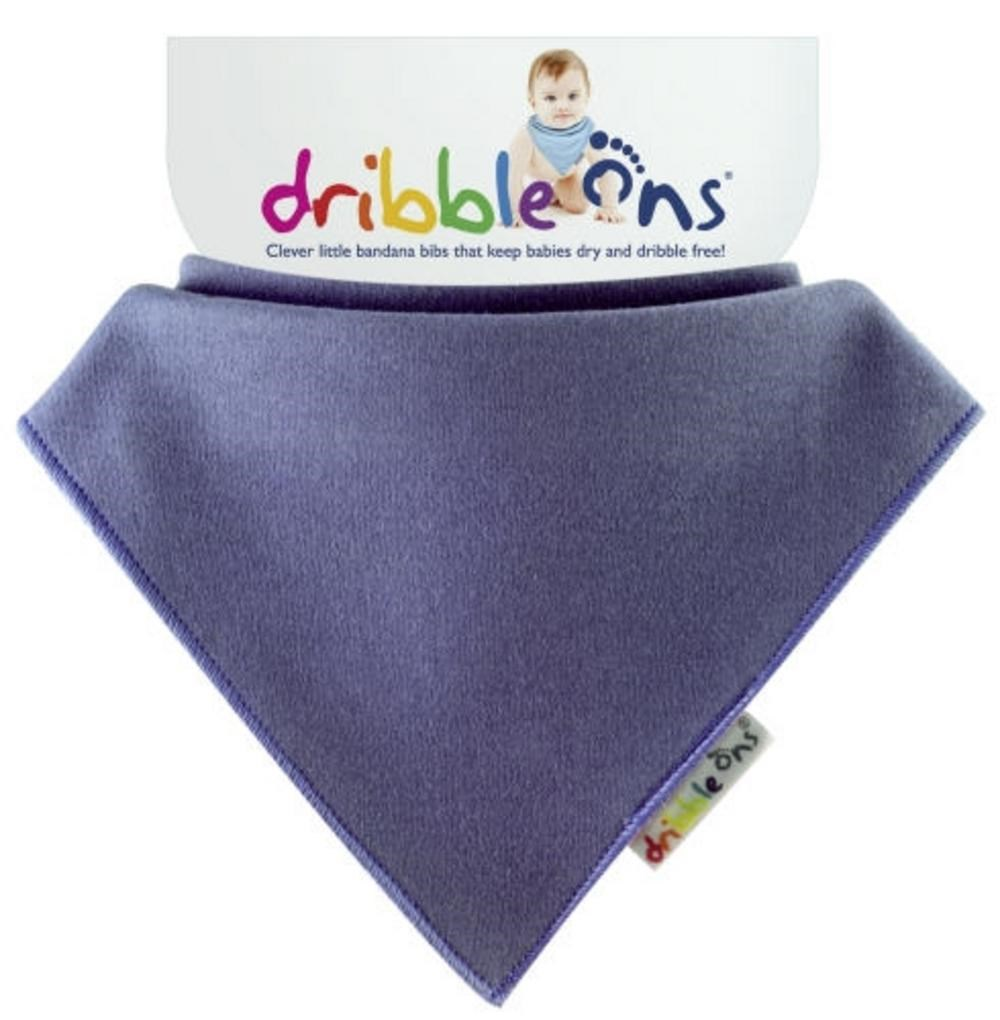 Dribble Ons Brights - Blueberry