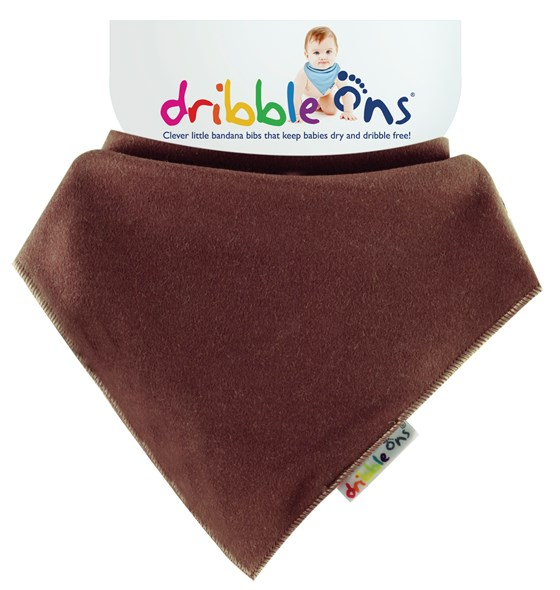 Dribble Ons Brights - Chocolate