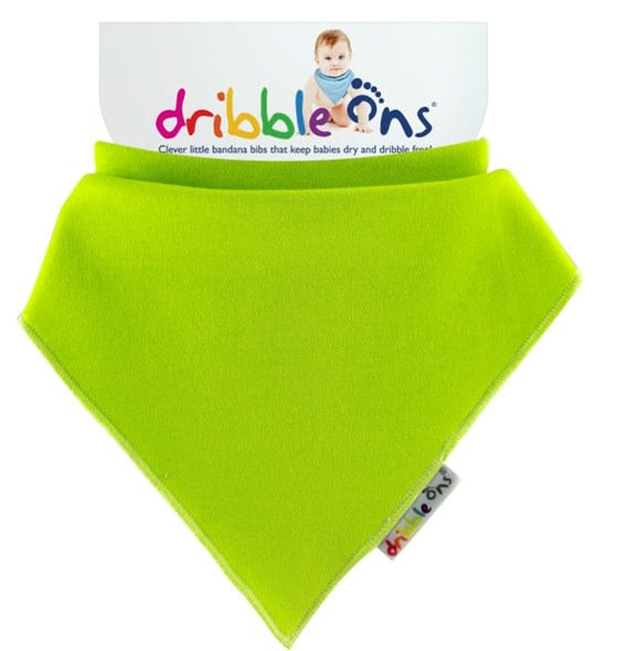 Dribble Ons Brights - Lime