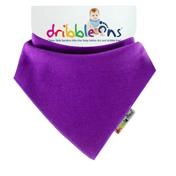 Dribble Ons Brights - Grape