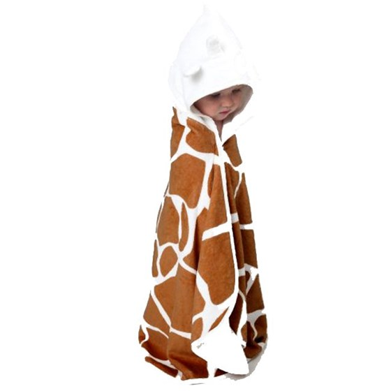Cuddledry Toddler Towel - Safari Toddler Towel