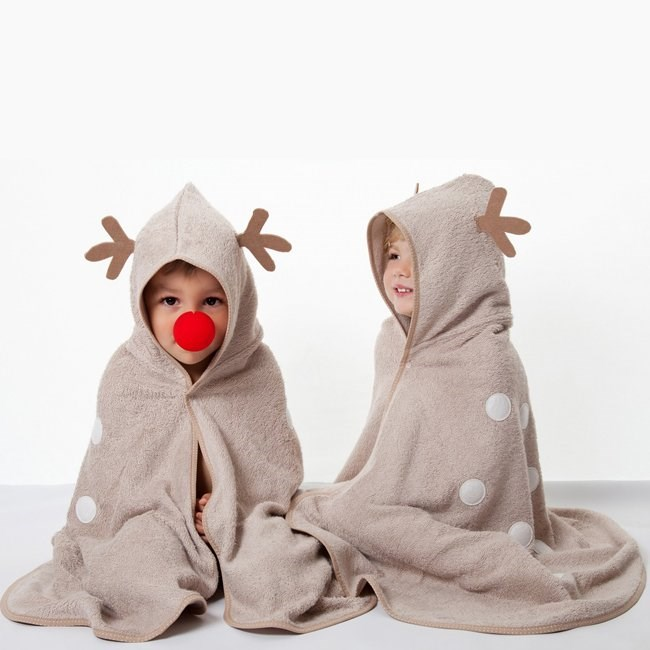 Cuddledry Toddler Towel - Cuddledeer