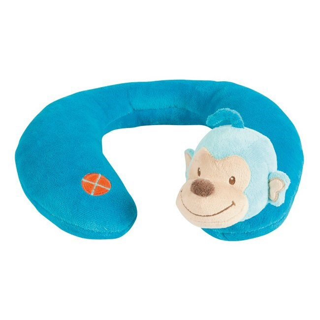 Nattou Neck Pillow - Monkey