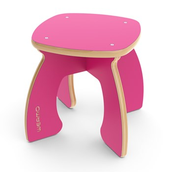 Midi Stool - Pretty in Pink