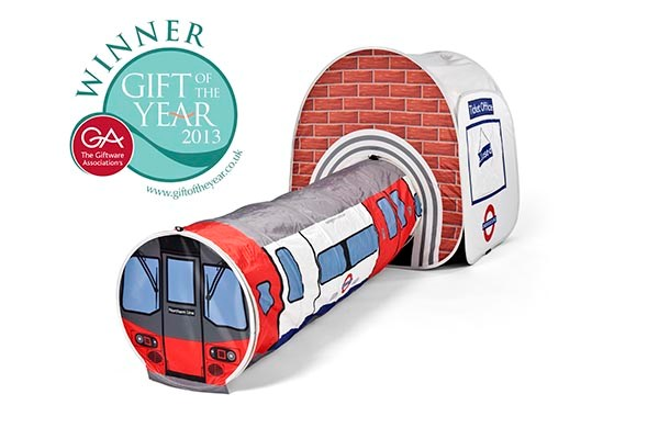 London Underground Tube and Station Play Tent