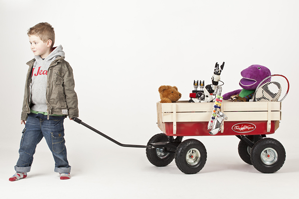 Toby All Terrain Red Wagon Loubilou