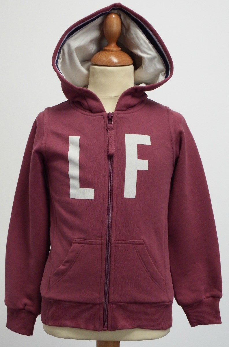 Lucas Frank Pulteney Point Hoodie in Plum