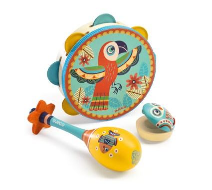 Djeco Set of 3 Musical Instruments