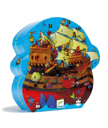 Barbarossa's Pirate Ship Puzzle