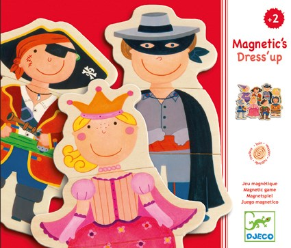 Djeco Magnetic Dressing Up Game