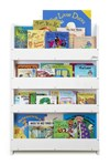The Tidy Books® Children's Bookcase - Perfect book display & storage for children - White No Letter
