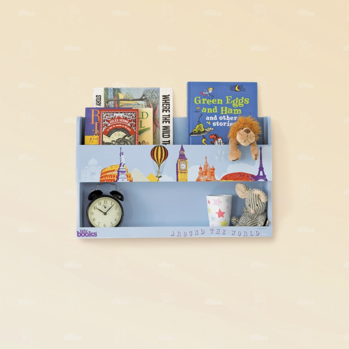 The Tidy Books® Around the World Bunk Bed Buddy™ - Special Edition