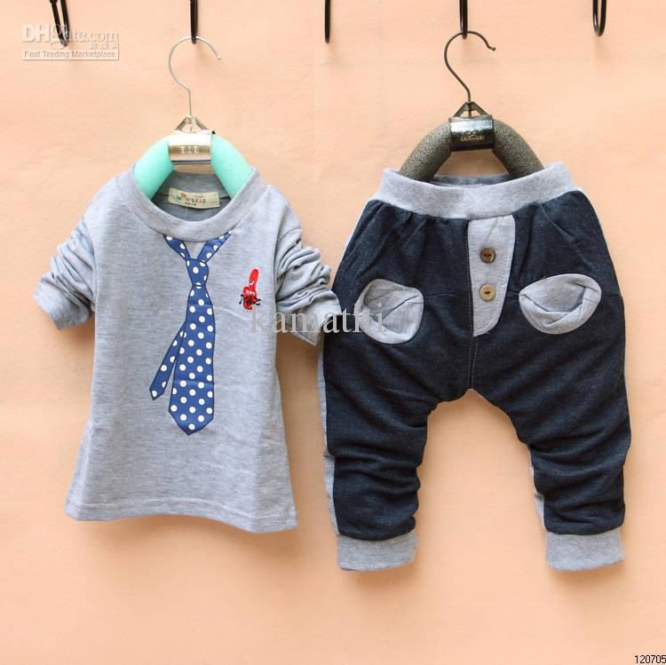 Boys top and trousers