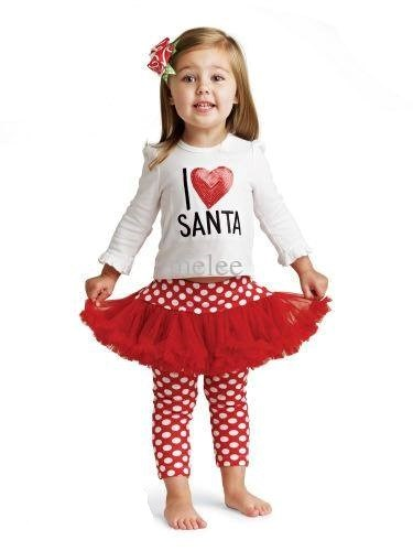 Girls Santa Outfit / Costume