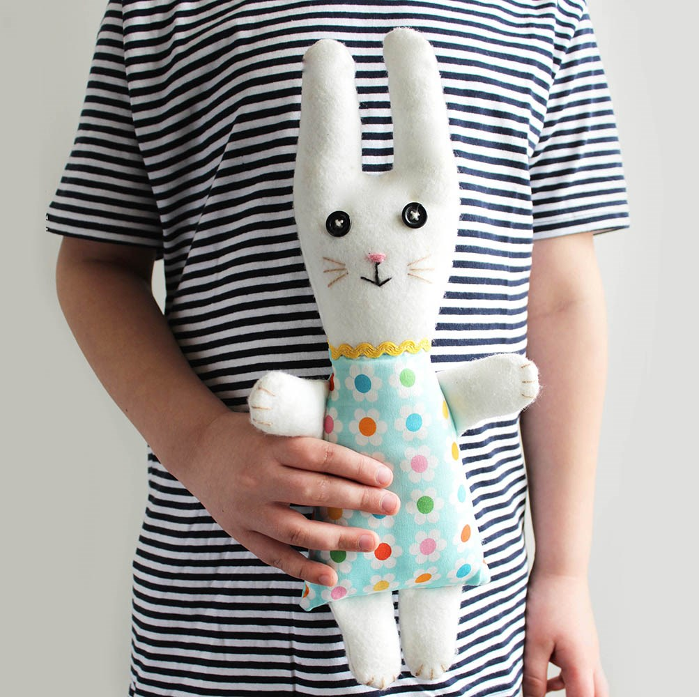 Make your own Bunny sewing kit