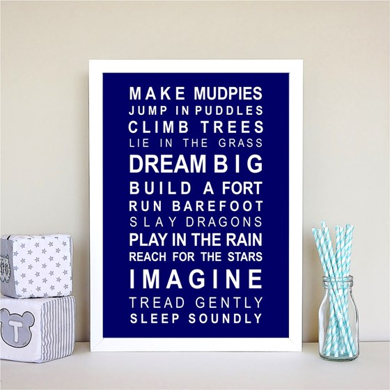 Dreams - Make Mudpies Print