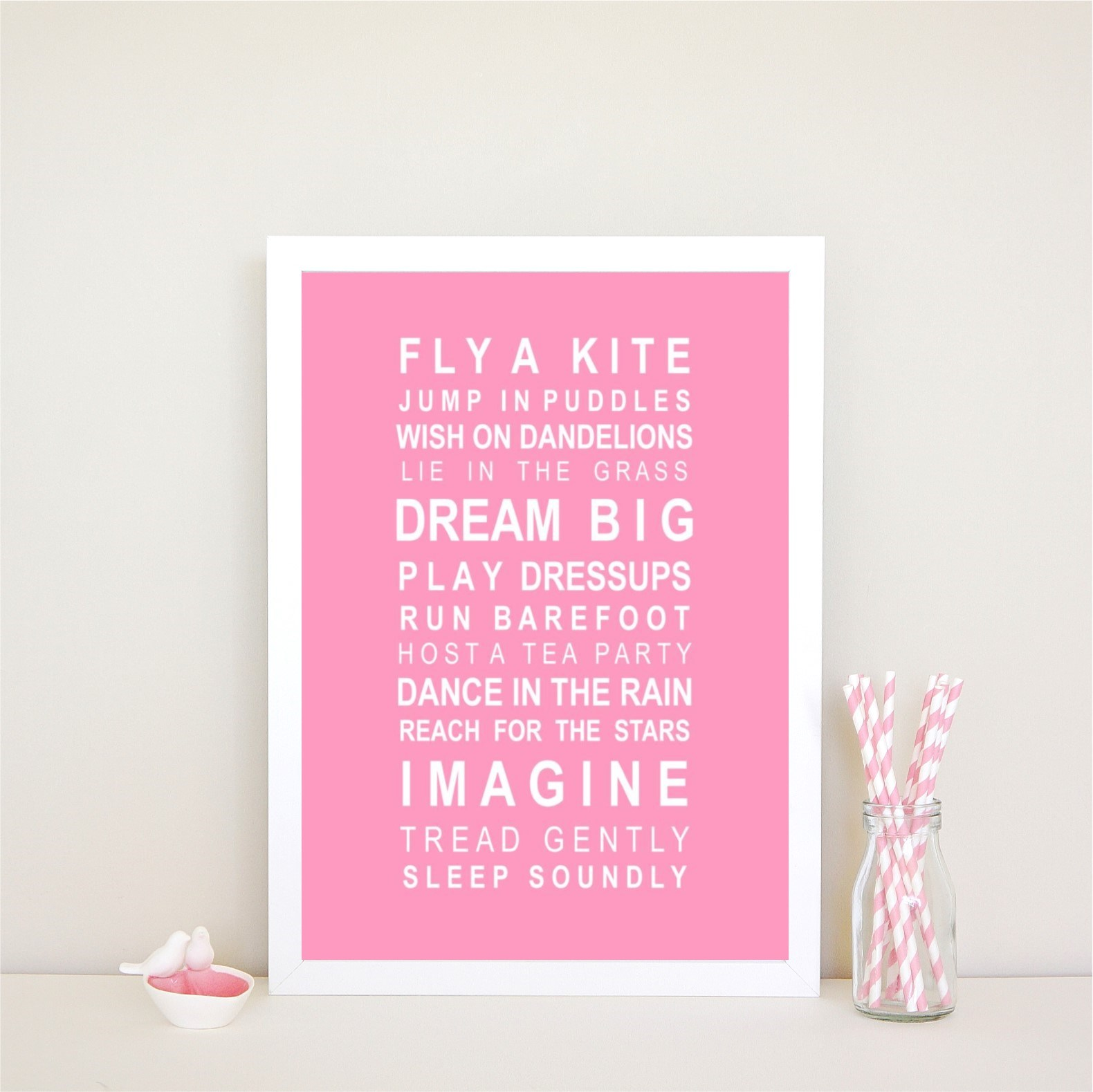 Dreams - Fly a Kite Print