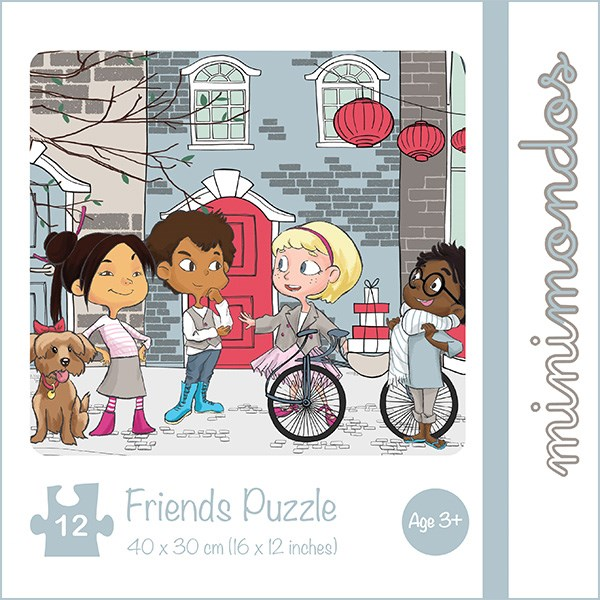 Jigsaw Puzzle 12pcs - Friends