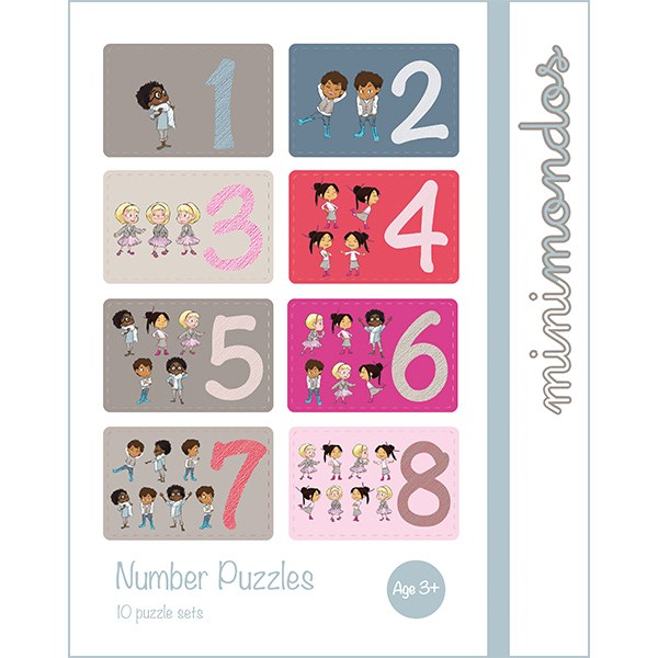 Puzzle Sets - Numbers (30pcs)