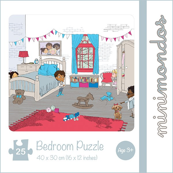 Jigsaw Puzzle 25pcs - Bedroom