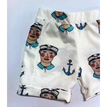 Sailor boy ahoy shorts