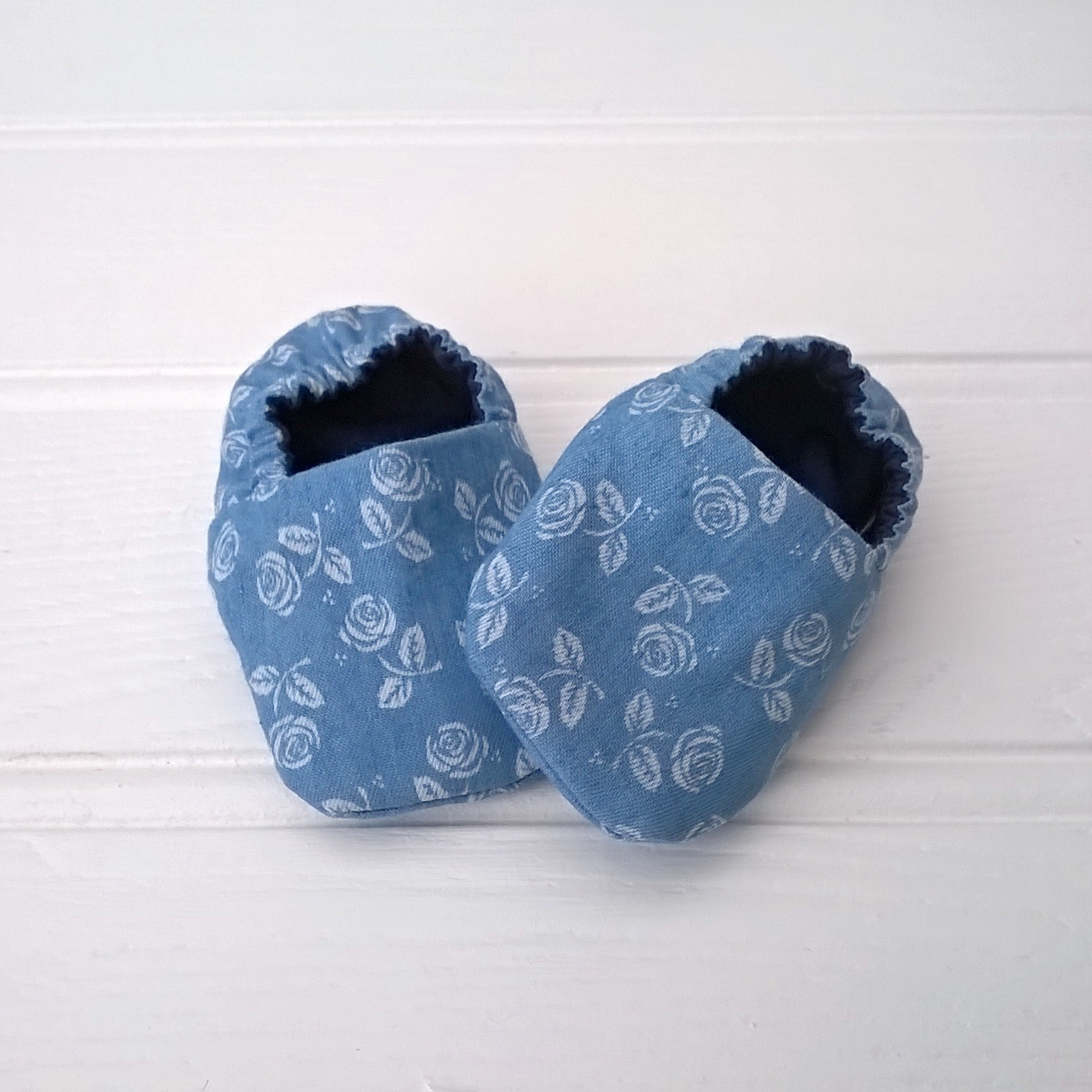 Fleur Soft Soled Baby Shoes
