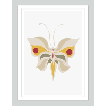 Big Butterfly | Minimalist Nursery Art |Toddler Room Art