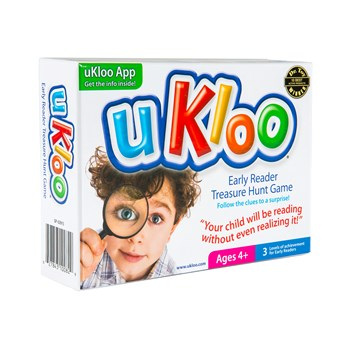 uKloo Early Reader Treasure Hunt Game - Your kids will be reading without even realizing it!