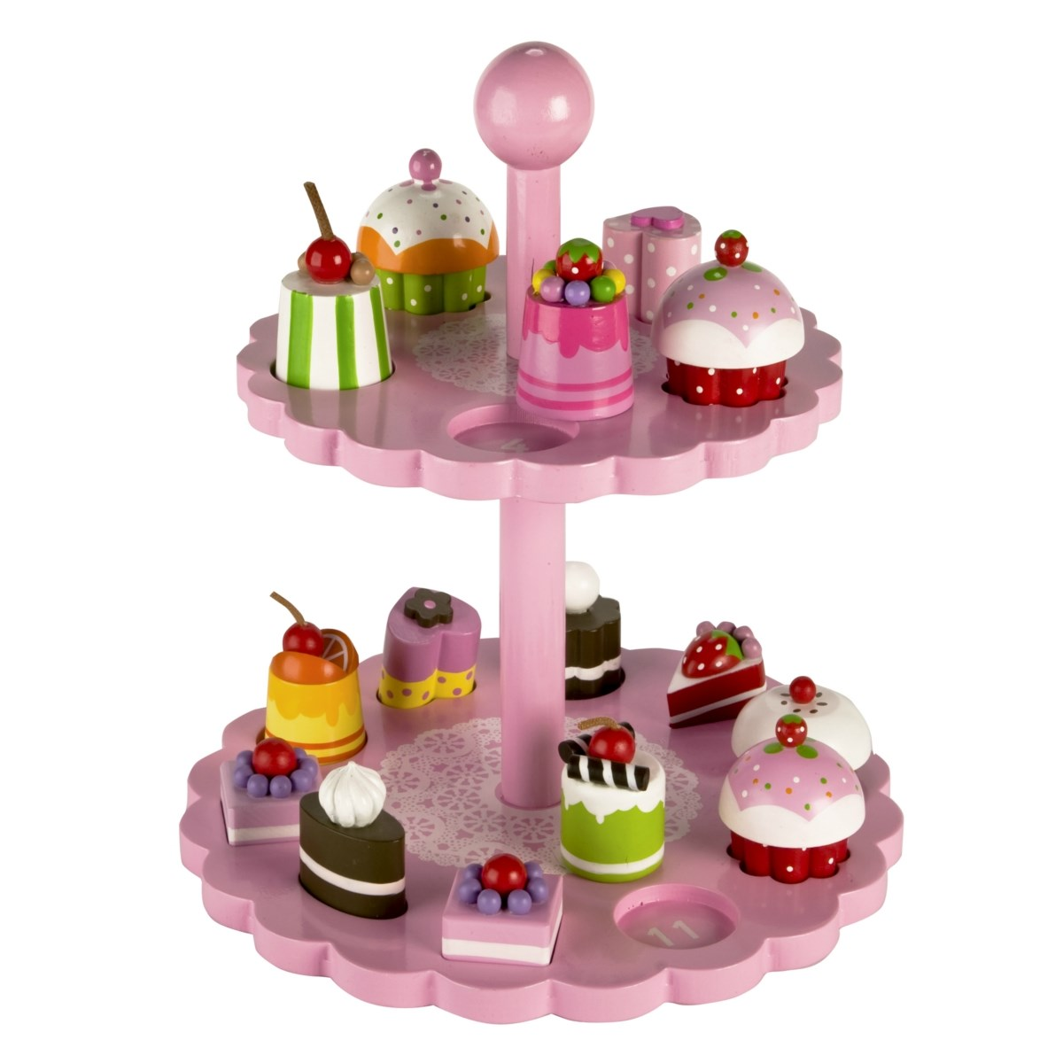 High Tea Shape Matching Play Set by Tidlo