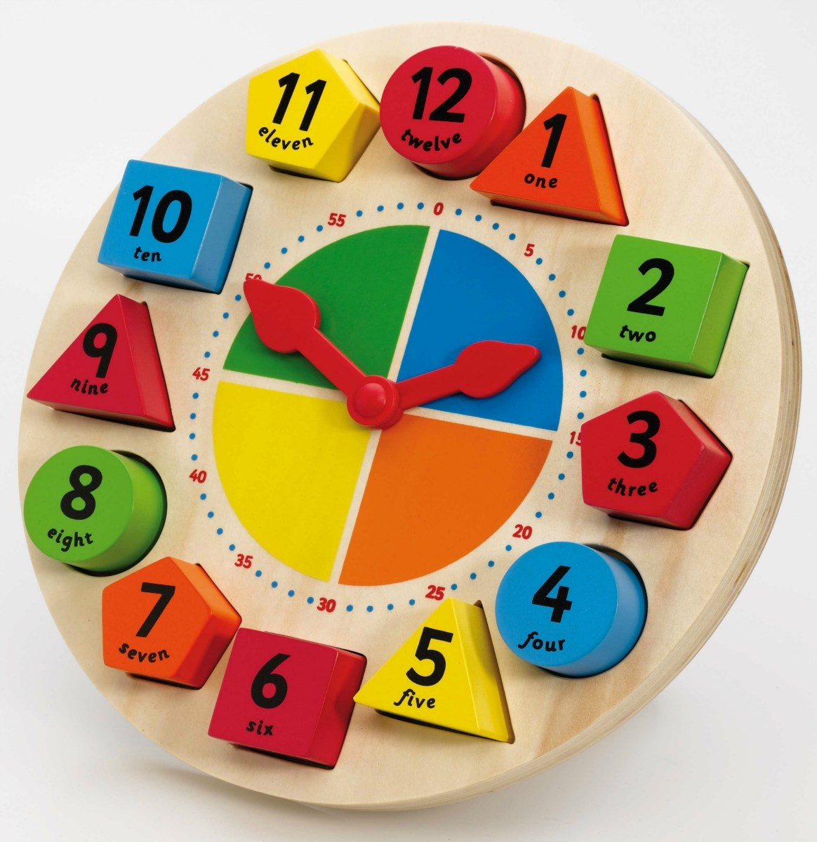Sorting and Teaching Clock by Tidlo