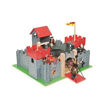 Camelot Wooden Toy Castle by Le Toy Van