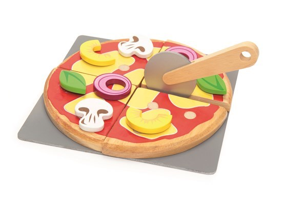Honeybake Create Your Own Pizza - wooden food playset