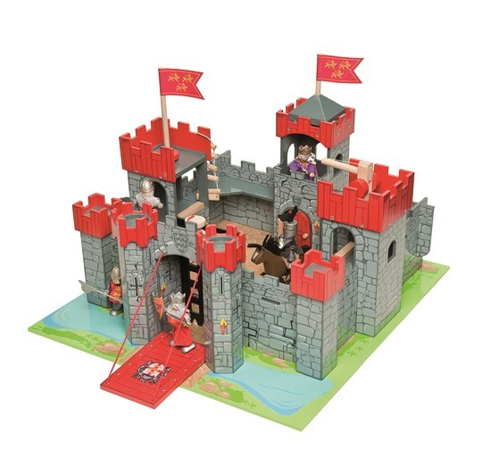 Red Lion Heart Castle by Le Toy Van