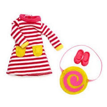 Lottie Doll Accessories - Raspberry Ripple Dress and Accessories