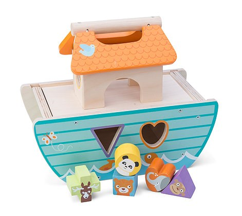 Le Petit Ark - Wooden Noah's Ark by Le Toy Van