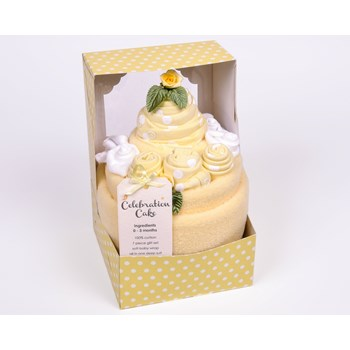 Luxury Celebration Cake 7 Piece New Baby Gift Set Unisex